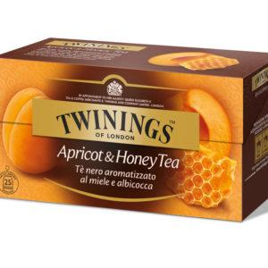 TWININGS Apricot & Honey Tè neri aromatizzati