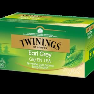 TWININGS Earl Grey Green Tea Tè verde