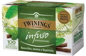 TWININGS FINOCCHIO, MENTA E LIQUIRIZIA GLI INFUSI