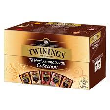 TWININGS Flavoured Black Tea Collection Tè neri aromatizzati