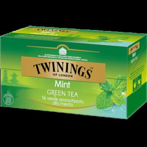 TWININGS Mint Green Tea Tè verde