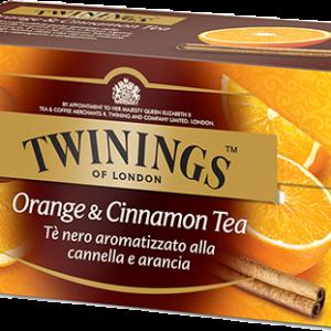 TWININGS Orange & Cinnamon Tea Tè neri aromatizzati
