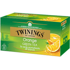 TWININGS Orange Green Tea Tè verde