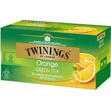 TWININGS Orange Green Tea Tè verde