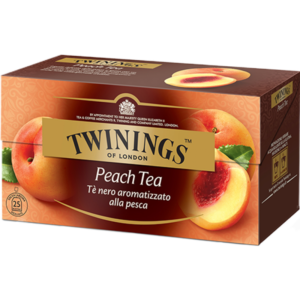 TWININGS Peach Tea Tè neri aromatizzati