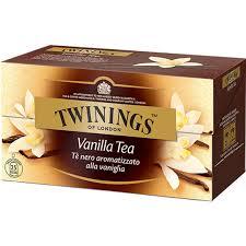 TWININGS Vanilla Tea Tè neri aromatizzati