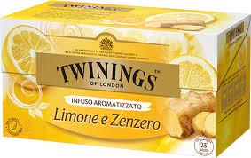 TWININGS ZENZERO E LIMONE GLI INFUSI
