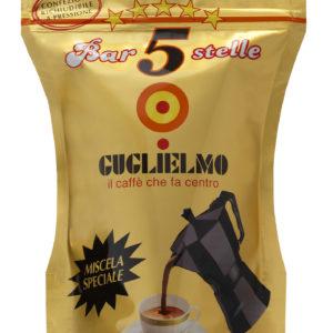 caffé macinato 5 stelle oro Bar guglielmo
