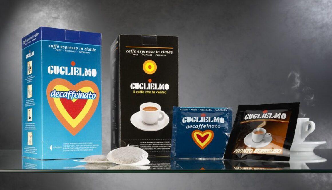 cialda caffè monoporzionato caffè guglielmo monoporzionato