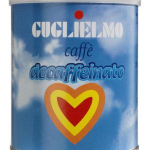 Caffé macinato decaffeinato Guglielmo