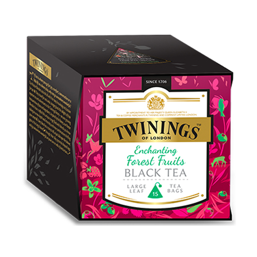 Tè Twinings SELEZIONI SPECIALI Enchanting Forest Fruits Black Tea