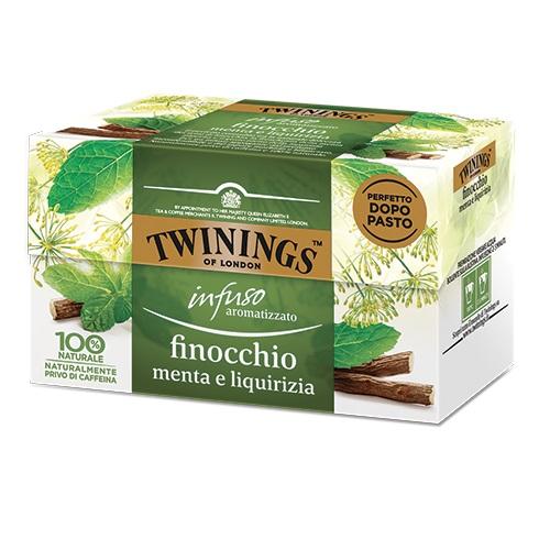 Tè Twinings GLI INFUSI Finocchio Menta e Liquirizia