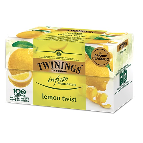 Tè Twinings GLI INFUSI Lemon Twist