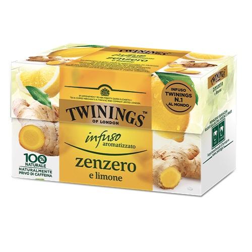 Tè Twinings GLI INFUSI Zenzero e Limone