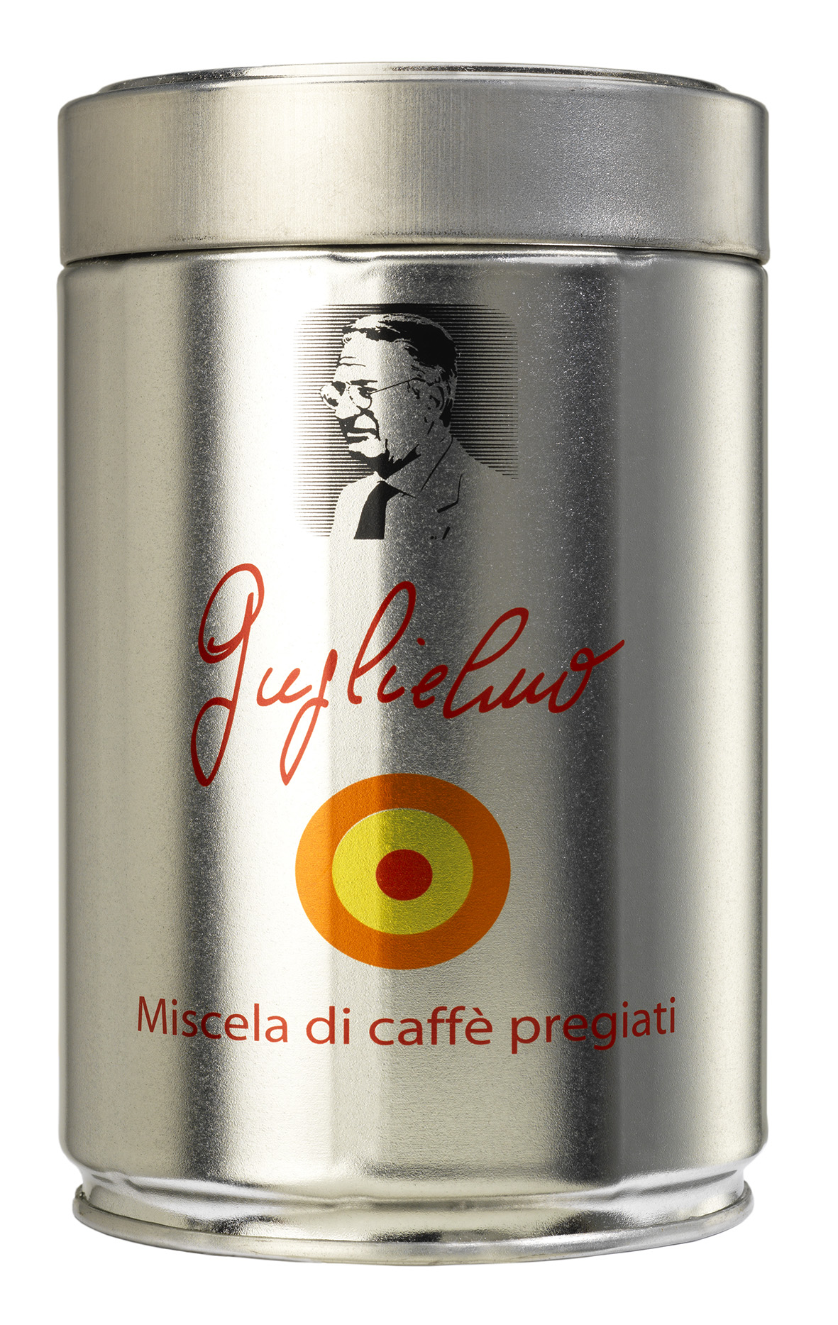 caffè Guglielmo lattina silver celebration