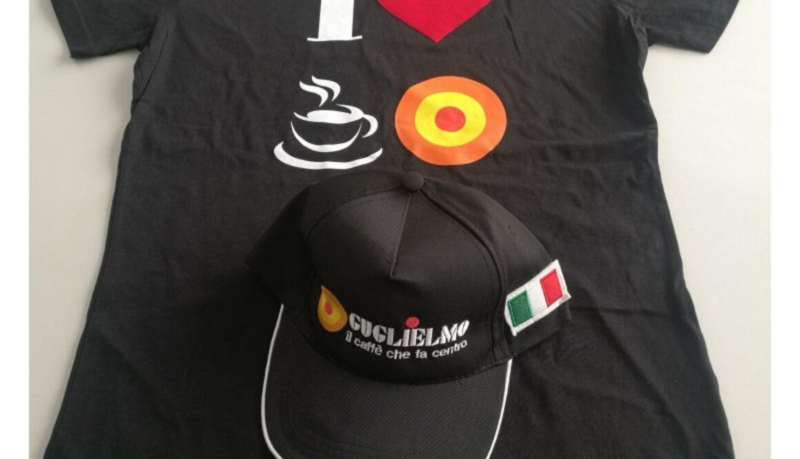 Maglietta Cappellino brand Guglielmo