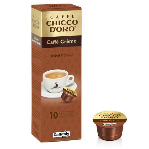 Chicco D'oro Caffitaly Caffe' Creme scatola da 10 capsule