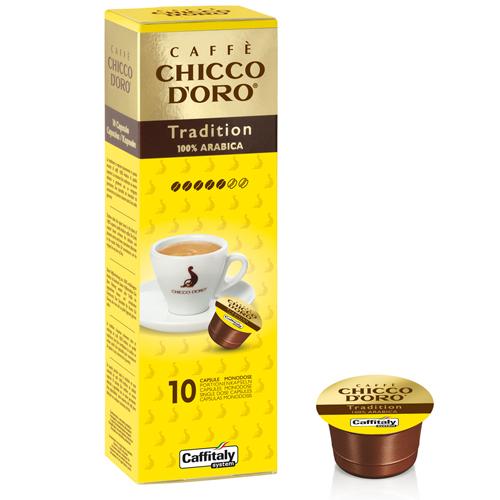 Chicco d'Oro Tradition 100% Arabica 10 capsule