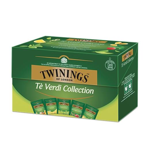 Tè Twinings VERDE Green Tè Collection