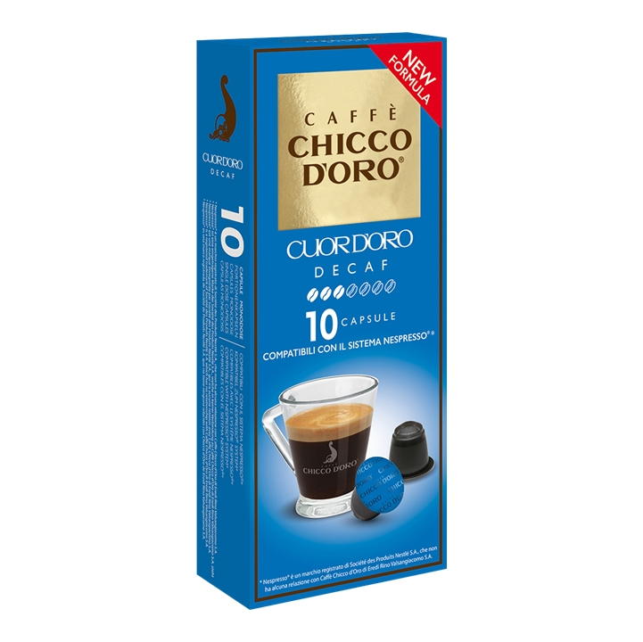 Compatibile Nespresso * Chicco d'oro Cuor d'Oro
