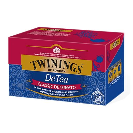 Tè Twinings Detea Classic Deteinato