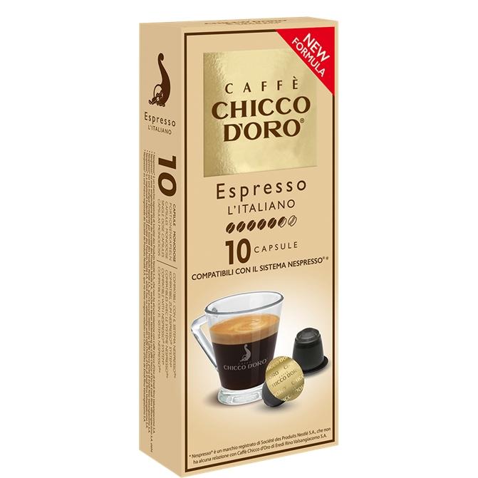 Compatibile Nespresso * Chicco d'oro L'Italiano