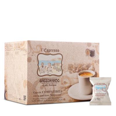 Capsule TO.DA caffè Gattopardo SPECIAL CLUB compatibili Nespresso *