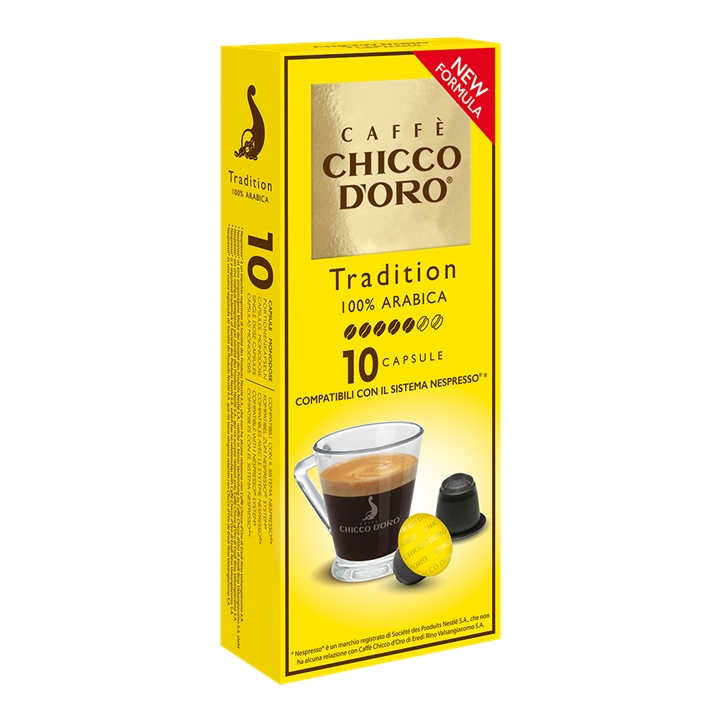 Compatibile Nespresso * Chicco d'oro Tradition 100%