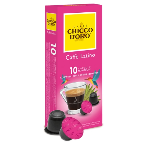 Compatibile Nespresso * Chicco d'oro Caffè Latino