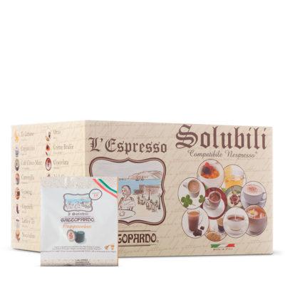 Capsule TO.DA caffè solubili Cappuccino compatibili Nespresso *
