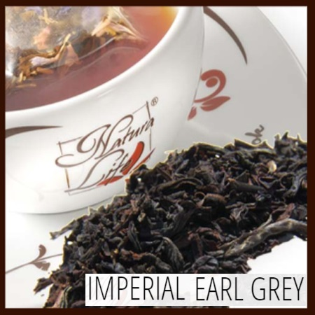 Tè nero Natura Life Imperial Earl Grey
