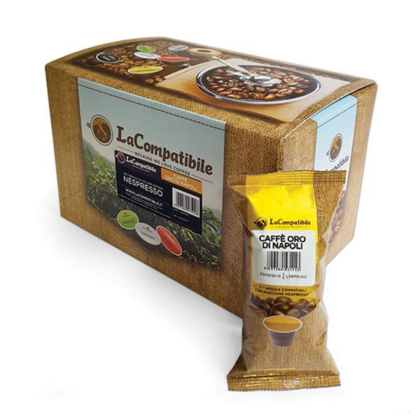 Caffè La Compatibile capsule compatibili Nespresso * Oro di Napoli