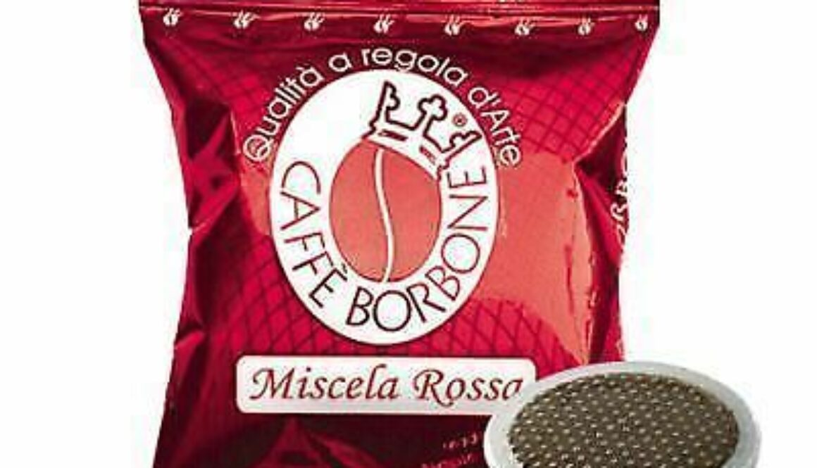 Caffe Borbone miscela rossa Compatibili Lavazza Point