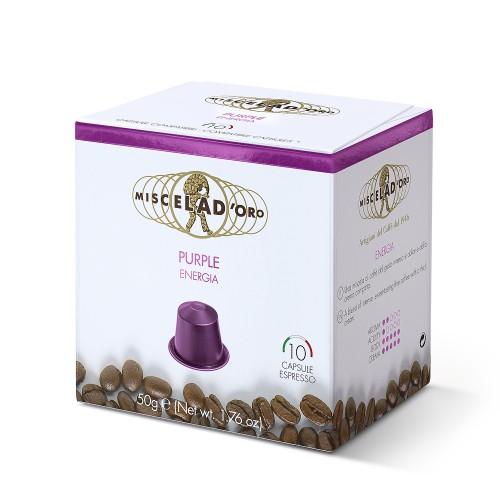 Caffè Miscela d'oro POURPLE Compatibili Nespresso *