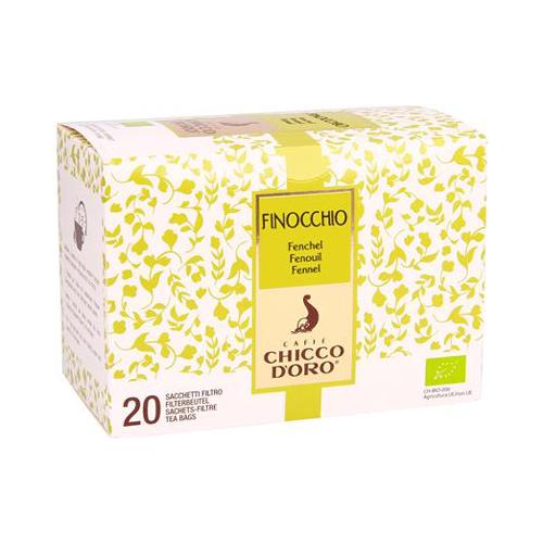 Tè Finocchio Bio 20 Filtri Chicco d'Oro