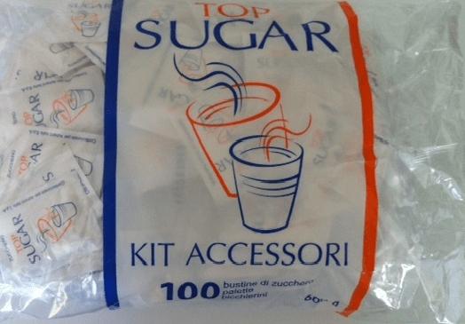 Kit accessori caffè Monouso confezionati