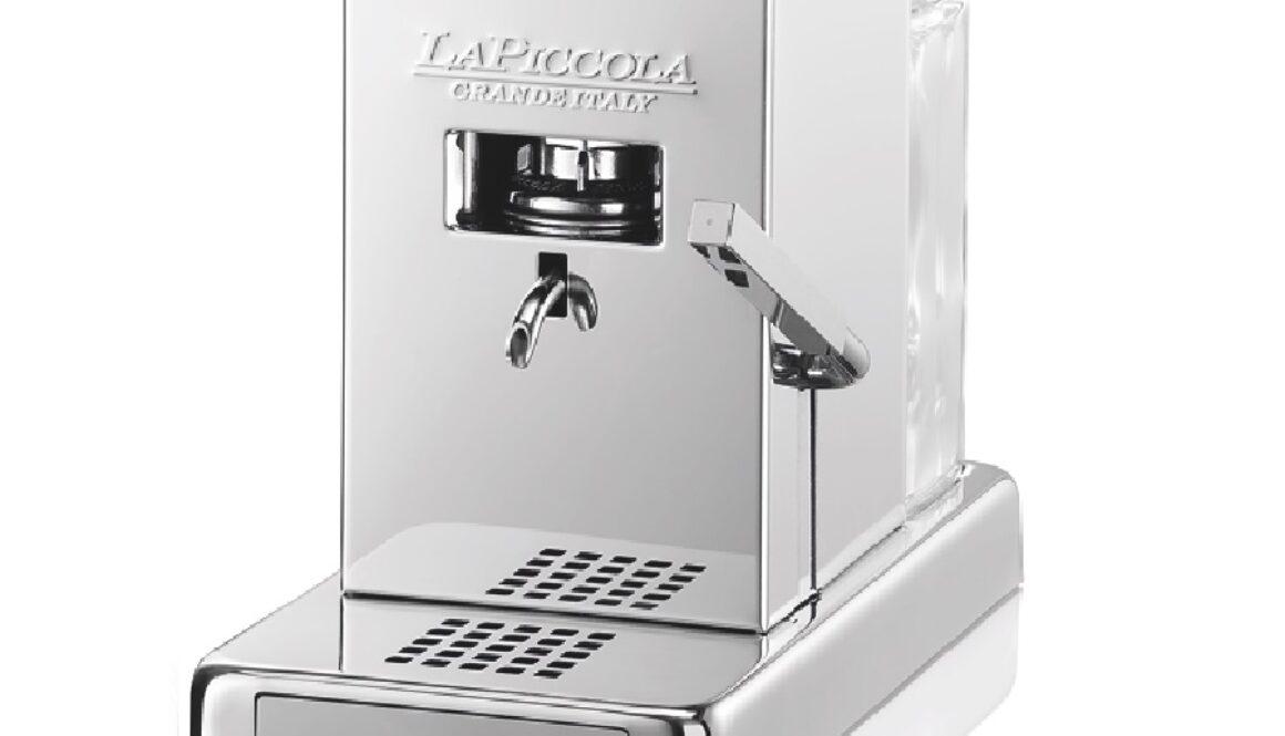 Piccola Doppia Lucidatura Macchina caffè per cialde