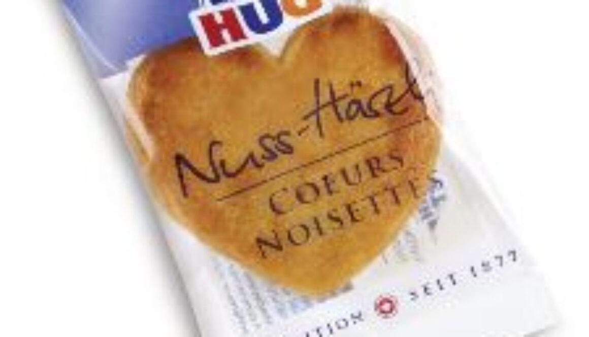 Biscotti monoporzionati Nuss-Härzli  c.a 250 pezzi