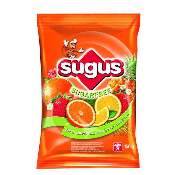 Caramelle Sugus Sugarfree 150g